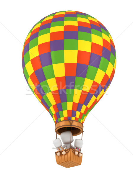 Stock photo: Hot Air Balloon