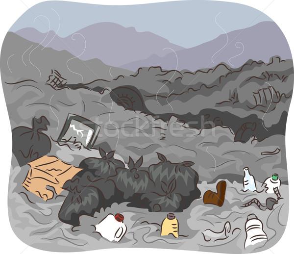 Dump Site Stock photo © lenm