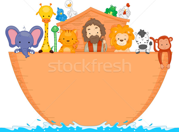 Stock photo: Noah's Ark