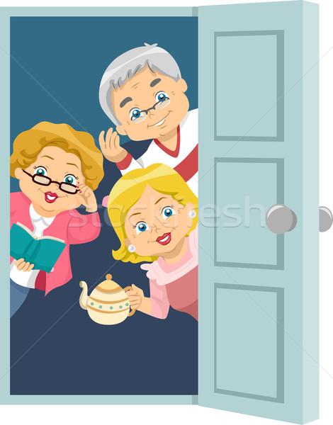 Seniors House Invite Stock photo © lenm