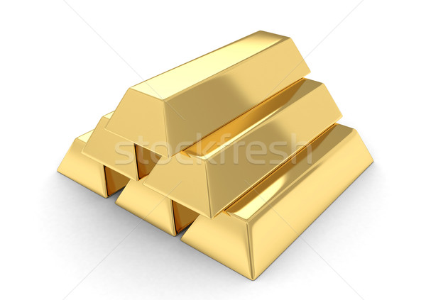 Gold Bars Stock photo © lenm