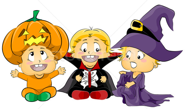 Halloween Costumes Stock photo © lenm