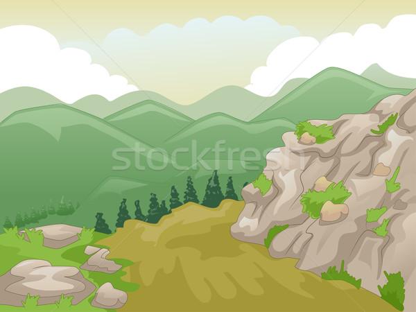Mountain Peak Stock photo © lenm
