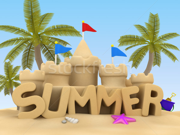 Stock photo: Summer
