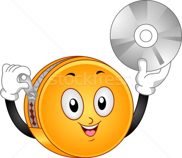 DVD Binder Mascot Stock photo © lenm