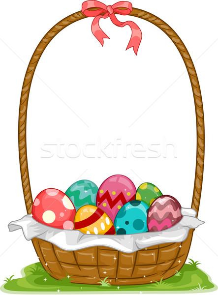 Easter Basket Stock photo © lenm