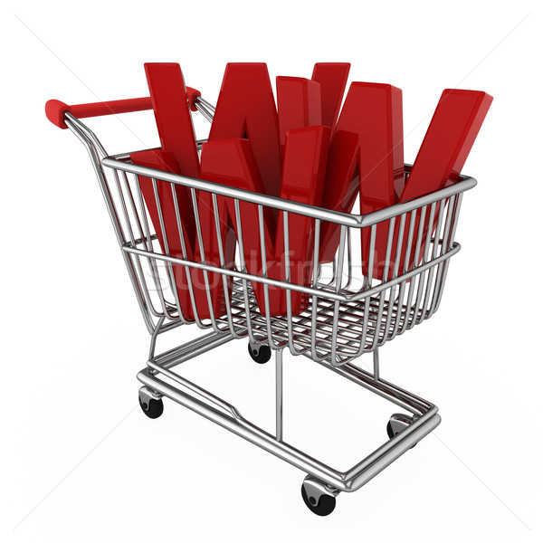E-commerce Stock photo © lenm