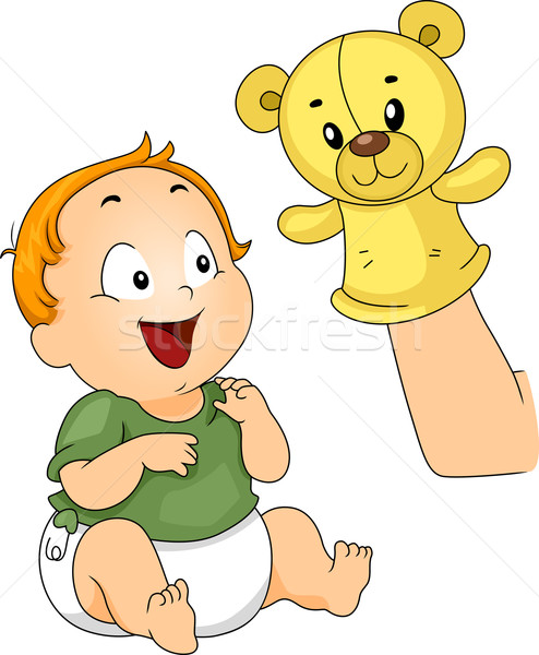 Sock Puppet Stock photo © lenm