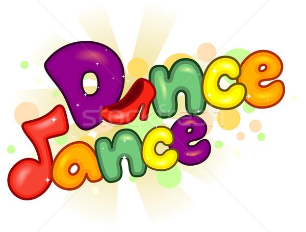 Dance Dance Stock photo © lenm