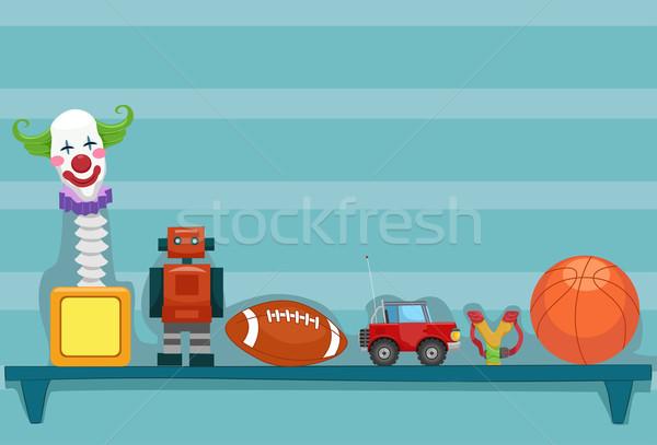 Toy Shelf Stock photo © lenm