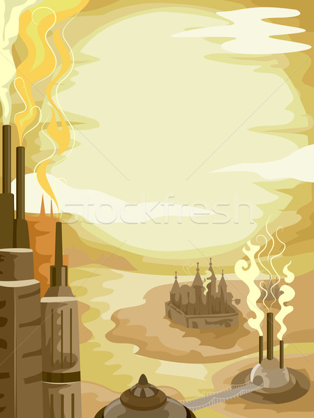Steam Punk Background Stock photo © lenm