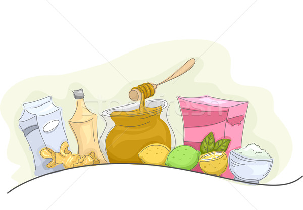 Home Remedies Natural Products Stock photo © lenm