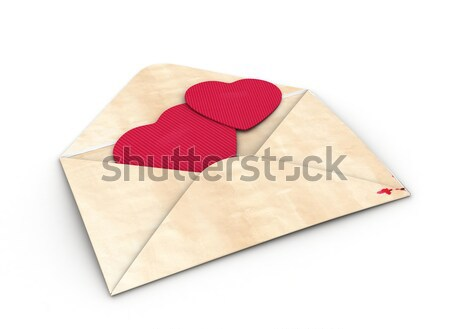 Valentine Envelope Stock photo © lenm