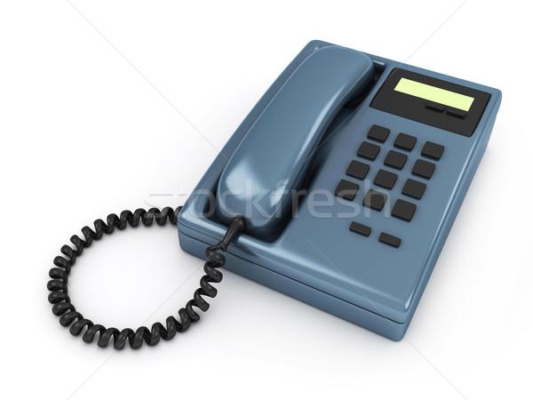Telephone Stock photo © lenm