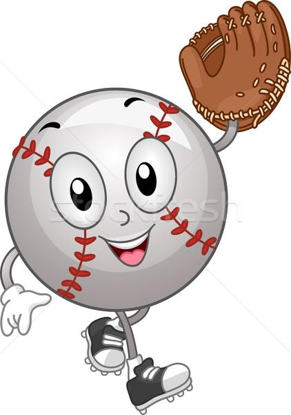 Baseball Mascot Stock photo © lenm