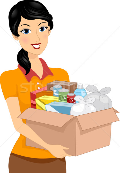Donation Box Stock photo © lenm
