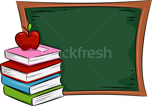Apple Books Stock photo © lenm