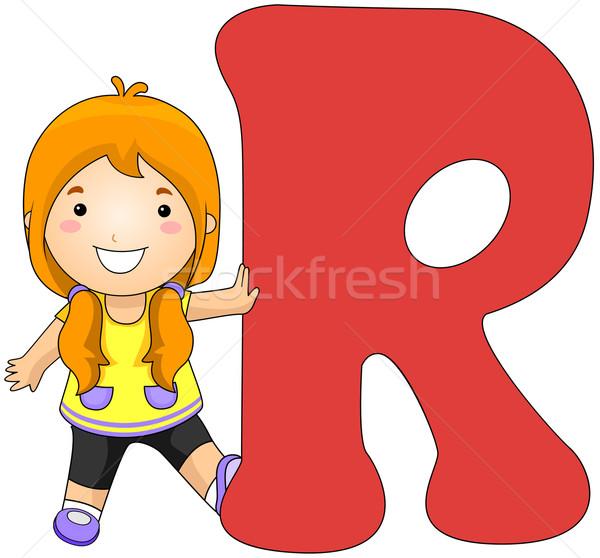 Kiddie Alphabet Stock photo © lenm