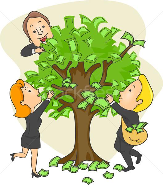 Money Tree Stock photo © lenm