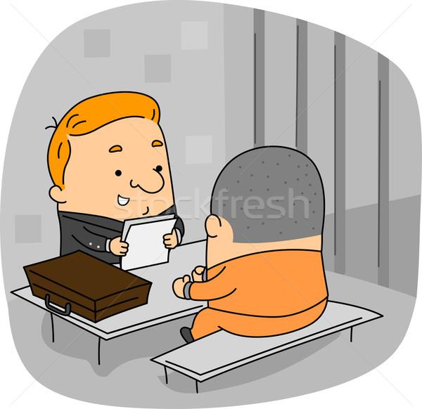 Lawyer Stock photo © lenm