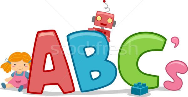 Toys ABCs Stock photo © lenm