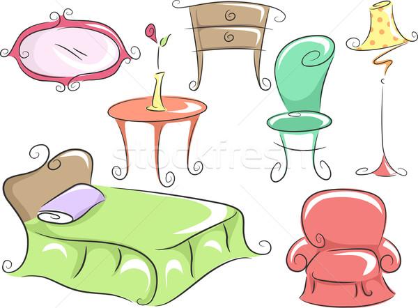 Home Furniture Stock photo © lenm