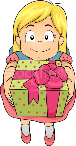 Нарисовать подарок девочке 16