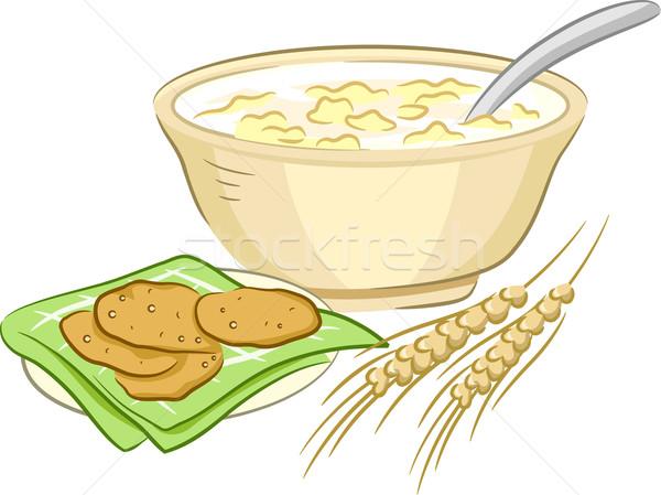 Oatmeal Cookies Stock photo © lenm