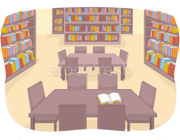 Library Stock photo © lenm