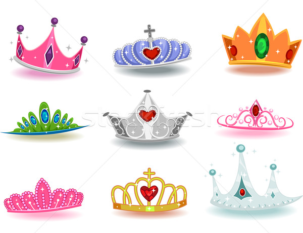 Stock photo: Princess Crowns