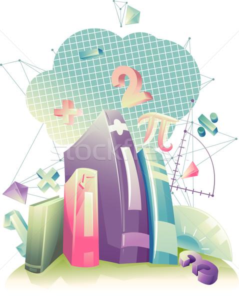 数学 抽象的な デザイン 実例 図書 数学の ストックフォト © lenm