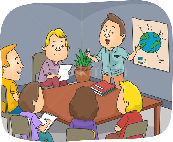 Environmental Meeting Stock photo © lenm