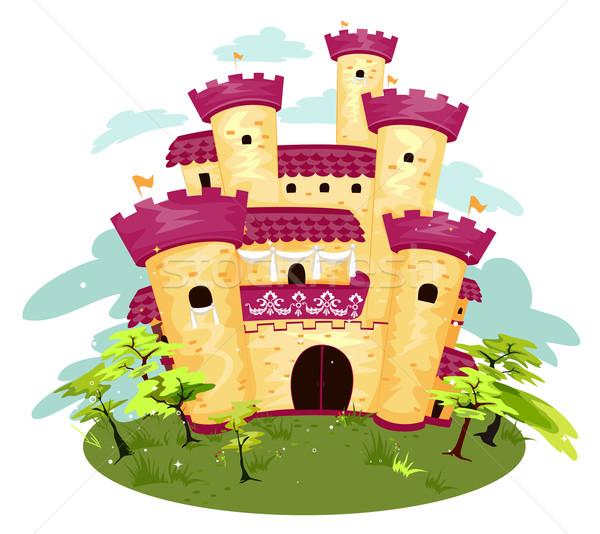 Castle Stock photo © lenm