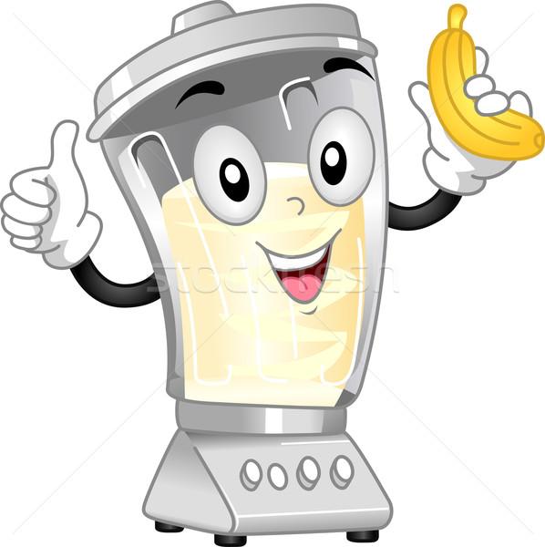 Blender Mascot Stock photo © lenm