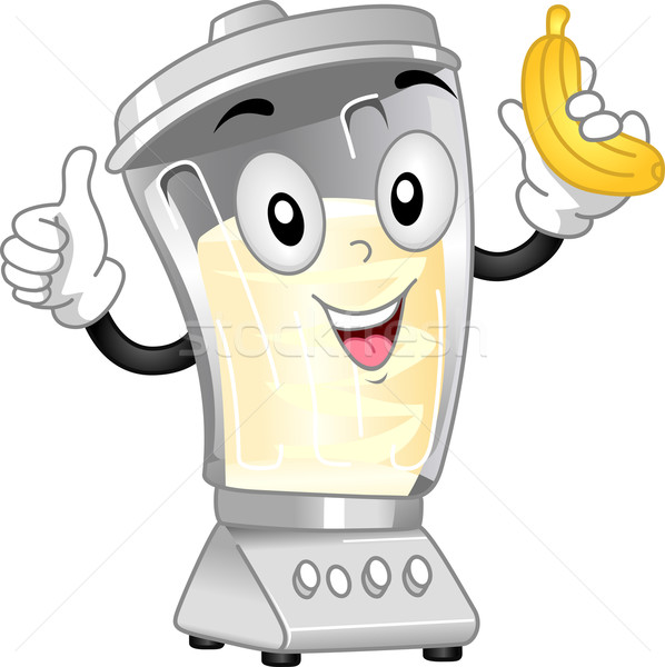 Stock photo: Blender Mascot