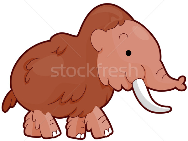 Mammoth Stock photo © lenm