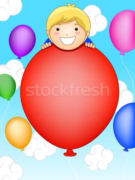 Party Invitation Stock photo © lenm