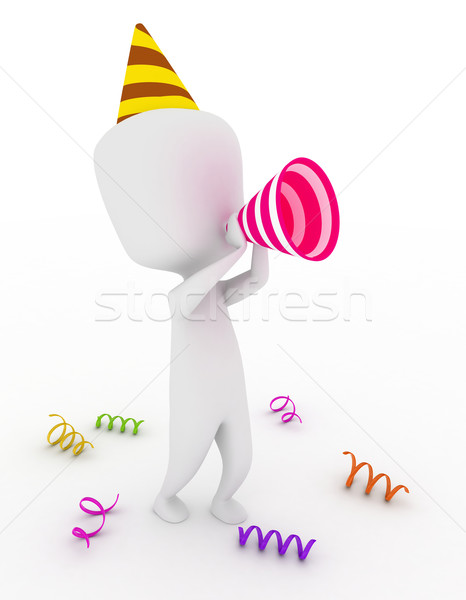 Stock photo: Party Shoutout