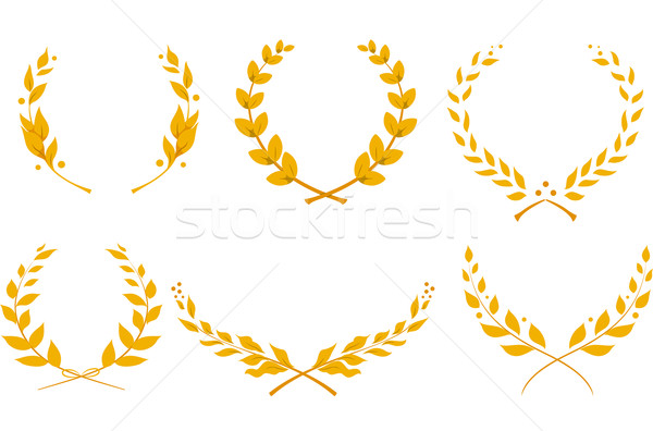 Laurel Wreath Stock photo © lenm