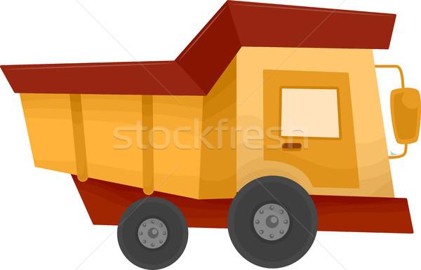 Dump Truck Stock photo © lenm