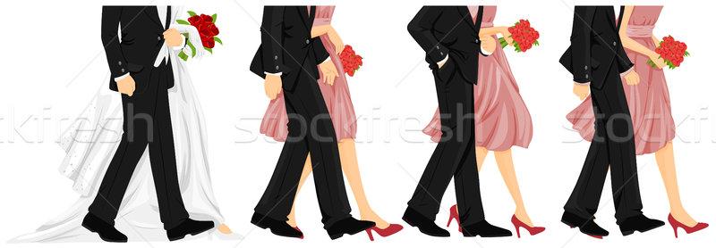 Wedding Walk Stock photo © lenm