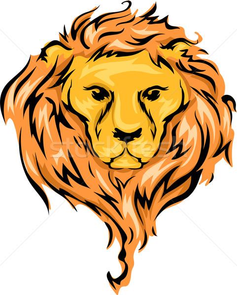 Lion Stock photo © lenm