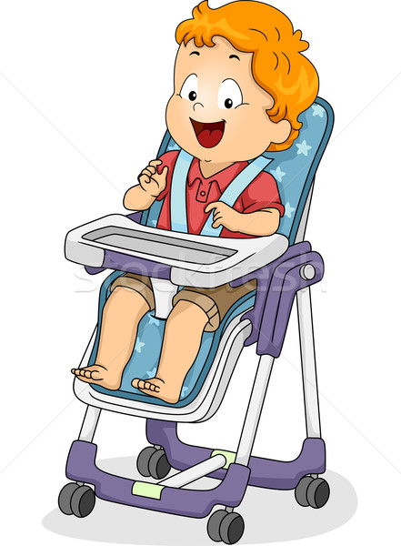 Stock photo: High Chair