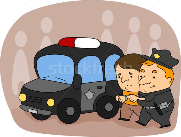 Policeman Stock photo © lenm