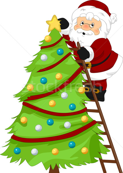 Stock photo: Santa's Christmas Tree