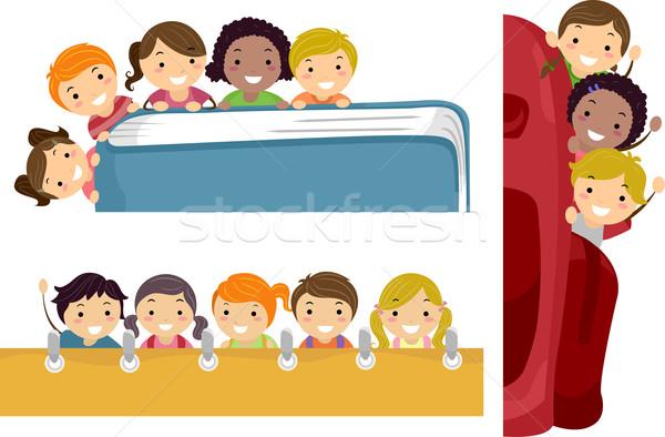 Education Border Stock photo © lenm