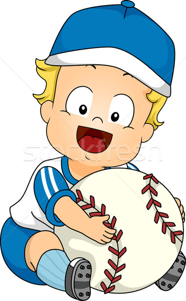 Baseball Baby Stock photo © lenm