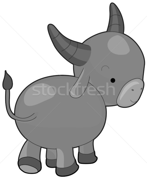 Water Buffalo Stock photo © lenm