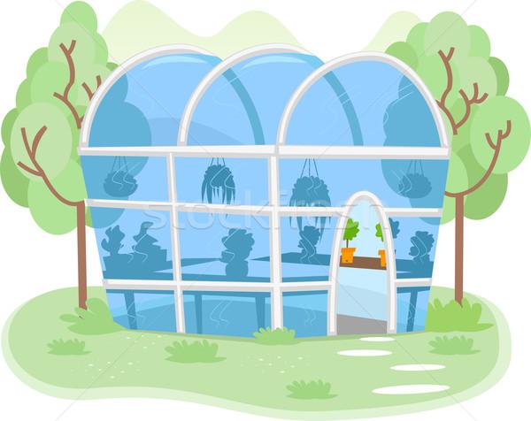 Greenhouse Stock photo © lenm