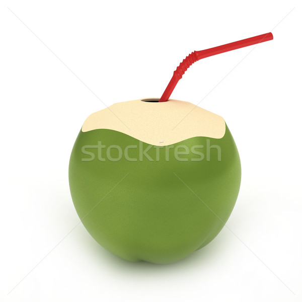 Coconut Drink Stock photo © lenm